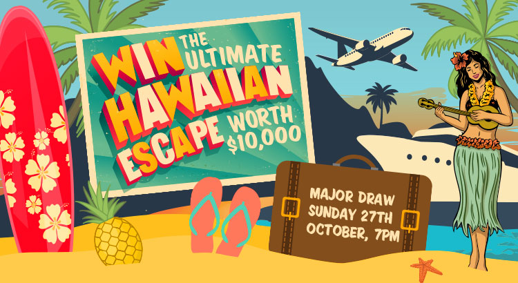 WIN THE ULTIMATE HAWAIIAN ESCAPE