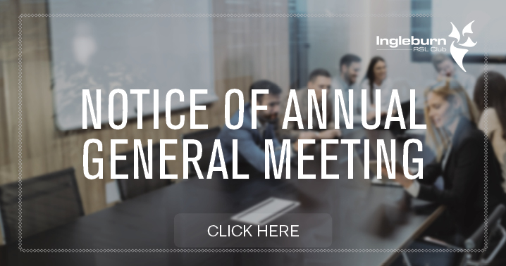 AGM notice to members