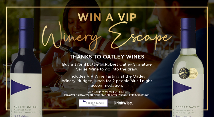 WIN A VIP WINERY ESCAPE