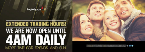 Ingleburn RSL | About Us | Trading Hours Poster