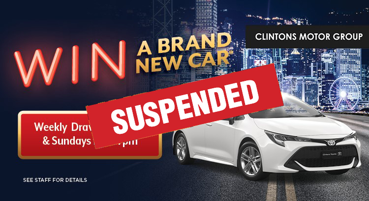 WIN A BRAND NEW CAR!